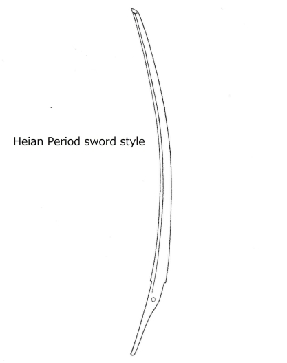 6a Heian period sword style