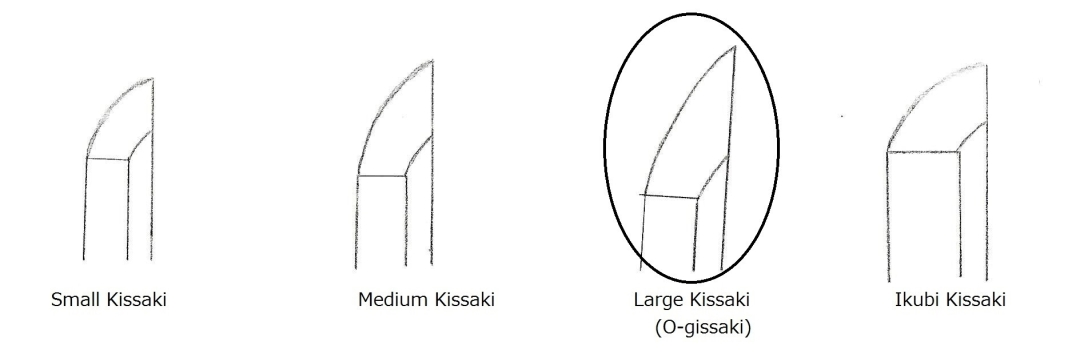 15 Kissak shape of 4