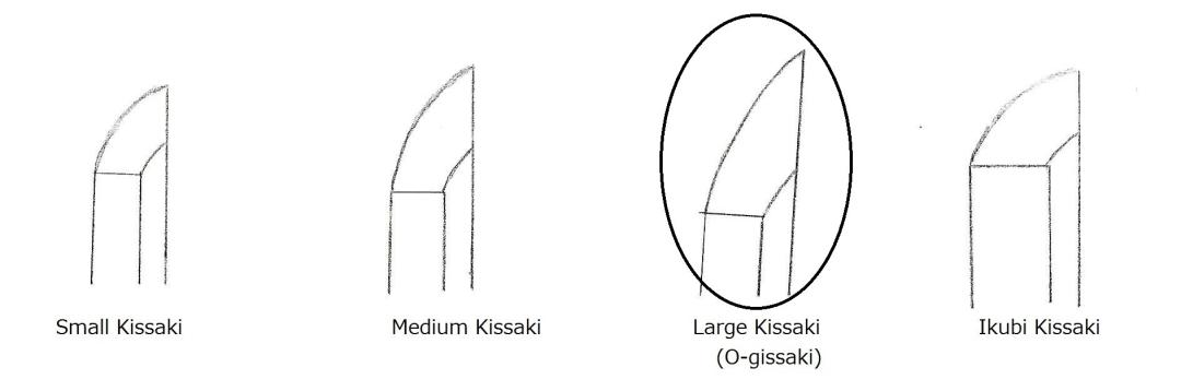 15 Kissak shape of 4