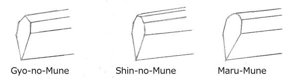 19 Nanboku-cho 3 kinds Mune
