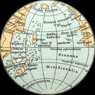 26 map of Cipangu1492